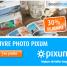 30% de remise sur votre Livre photo Pixum