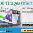 100 tirages photo gratuits dès 150 tirages commandés sur Snapfish