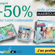 SNAPFISH : Economisez jusqu'à 50% sur votre commande de produits photo