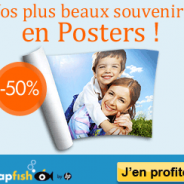 50% de réduction sur votre poster photo par Snapfish