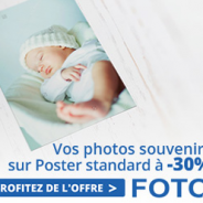 Votre photo poster avec 30% de réduction
