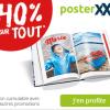 40% de réduction sur tout le site posterXXL