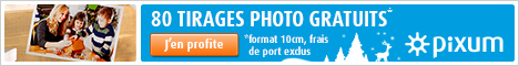 80 tirage photo gratuits avec le super laboratoire photo Pixum !