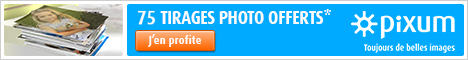 75 tirage photo gratuits avec le super laboratoire photo Pixum !